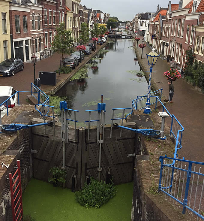 Monstersche Sluis, Maassluis